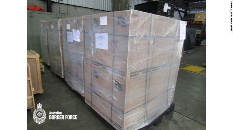 Cảnh sát bắt lô hàng ma túy đá lịch sử lên đến 1,6 tấn - ảnh 1