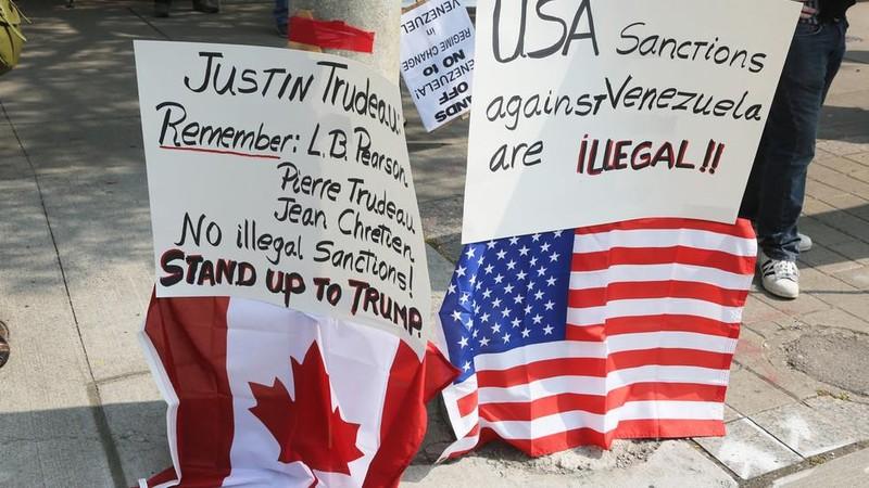 Venezuela dừng hoạt động lãnh sự quán ở Canada  - ảnh 1