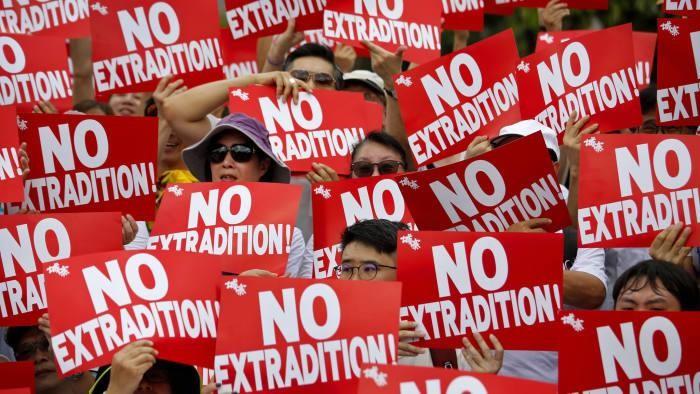 1 triệu dân Hong Kong chống dự luật dẫn độ sang Trung Quốc - ảnh 1