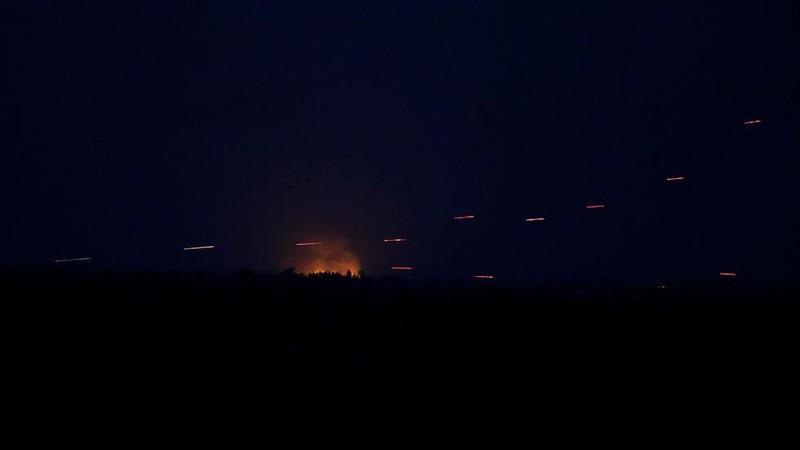 Syria đánh chặn thành công tên lửa Israel - ảnh 1