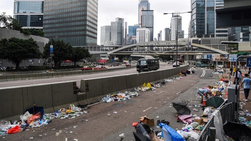 Biểu tình ở Hong Kong: Khoảng lặng trước 'bão giông'? - ảnh 1