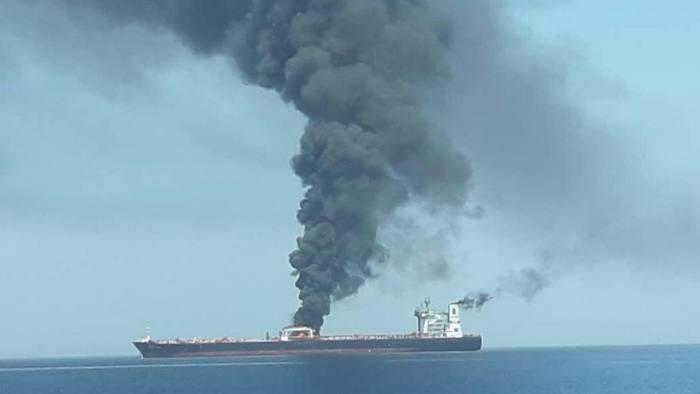 Nóng: Hai tàu chở dầu bị tấn công gần Iran  - ảnh 1