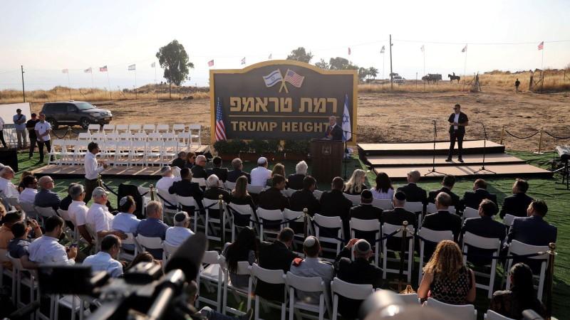 Ông Trump chính thức 'có chỗ' ở Cao nguyên Golan - ảnh 1