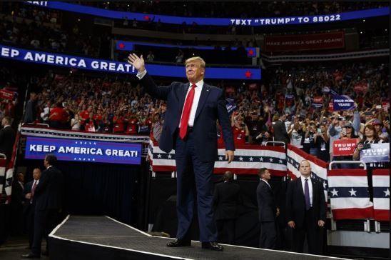 Chính thức tái tranh cử, ông Trump 'giữ nước Mỹ luôn vĩ đại' - ảnh 4