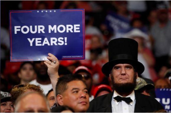 Chính thức tái tranh cử, ông Trump 'giữ nước Mỹ luôn vĩ đại' - ảnh 3