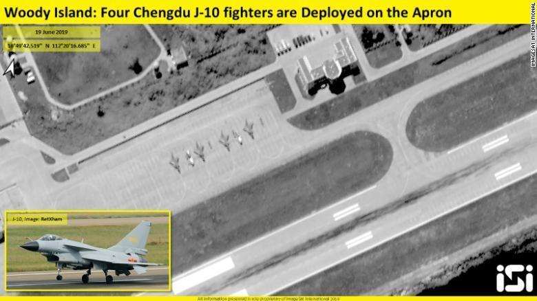 Trung Quốc triển khai trái phép chiến đấu cơ J-10 ra Hoàng Sa - ảnh 2