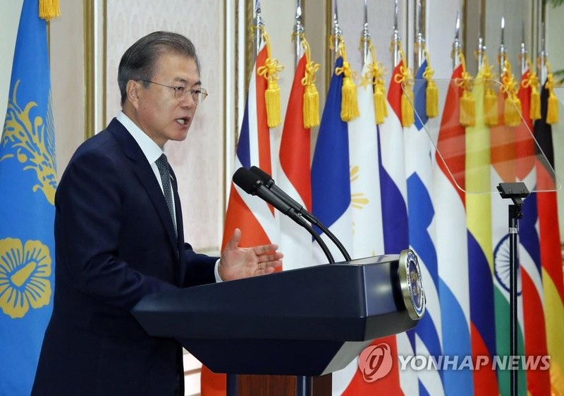 Ông Moon: Sẽ ngăn 'cuộc chiến khác' trên bán đảo Triều Tiên  - ảnh 1
