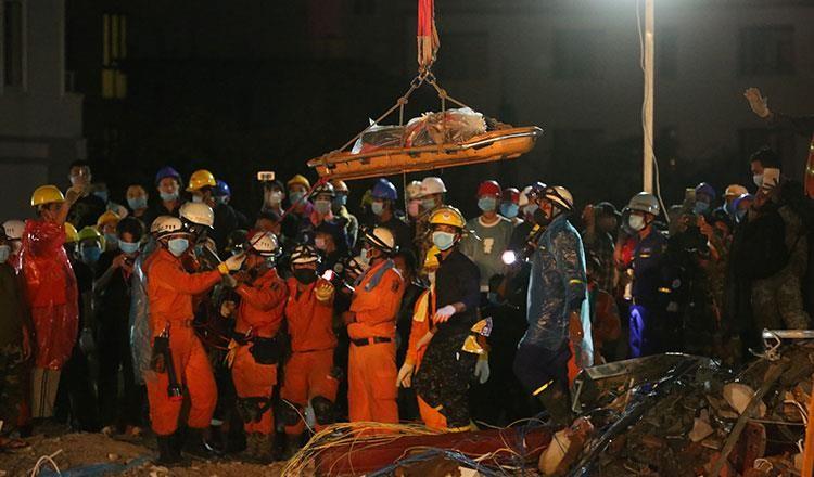 Sập công trình xây trái phép, lãnh đạo Campuchia bị sa thải - ảnh 4