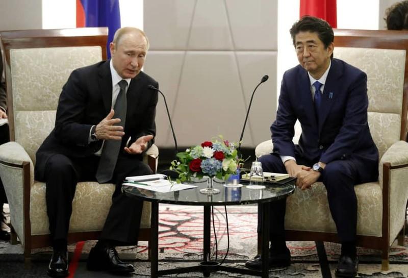 Nga-Nhật chưa giải quyết được tranh chấp lãnh thổ - ảnh 1