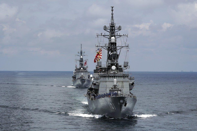 Nhật Bản lần đầu tăng hiện diện quân sự ở biển Đông  - ảnh 1