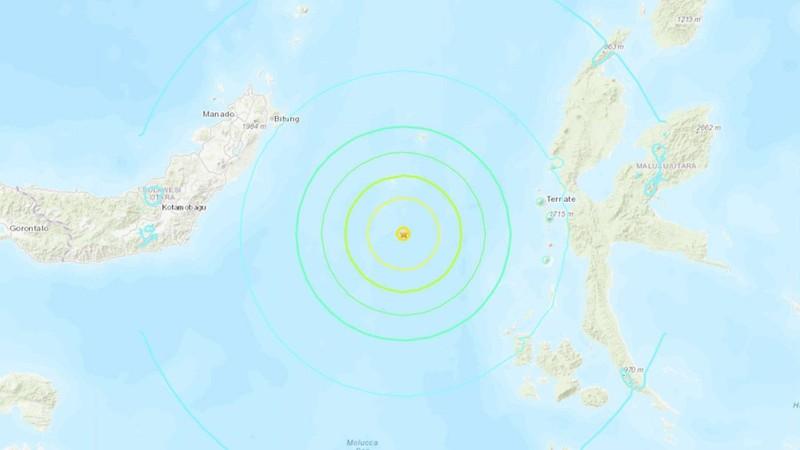 Cảnh báo sóng thần sau động đất ở Indonesia - ảnh 1