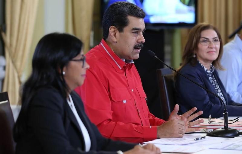 Ông Maduro 'đầy hy vọng' về cuộc đàm phán ở Barbados - ảnh 1