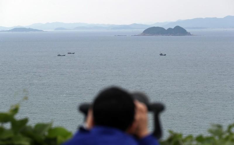 Phát hiện vật giống kính viễn vọng tàu ngầm phía tây Hàn Quốc - ảnh 1
