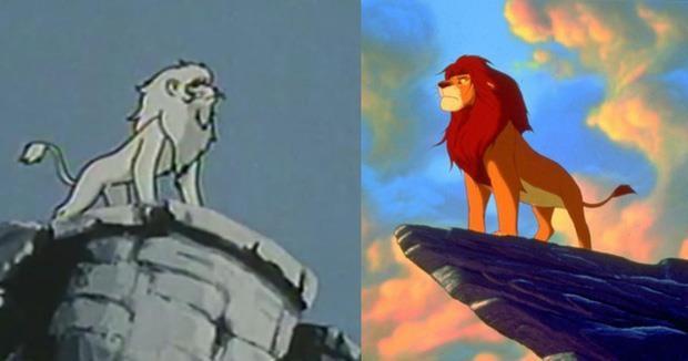 Phim Lion King vướng nghi án đạo nhái hoạt hình Nhật  - ảnh 3