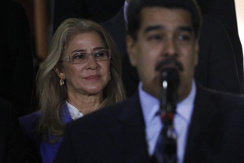 Con ông Maduro bị Mỹ áp lệnh trừng phạt - ảnh 1