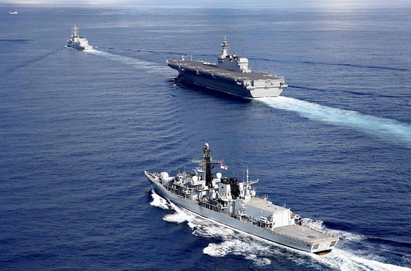 Chiến lược của Anh nhìn từ tàu sân bay HMS Queen Elizabeth - ảnh 2