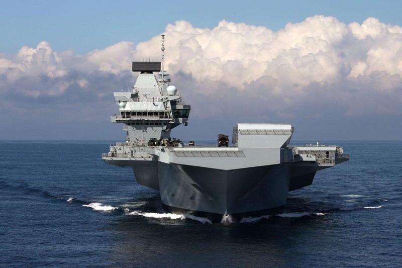 Chiến lược của Anh nhìn từ tàu sân bay HMS Queen Elizabeth - ảnh 1