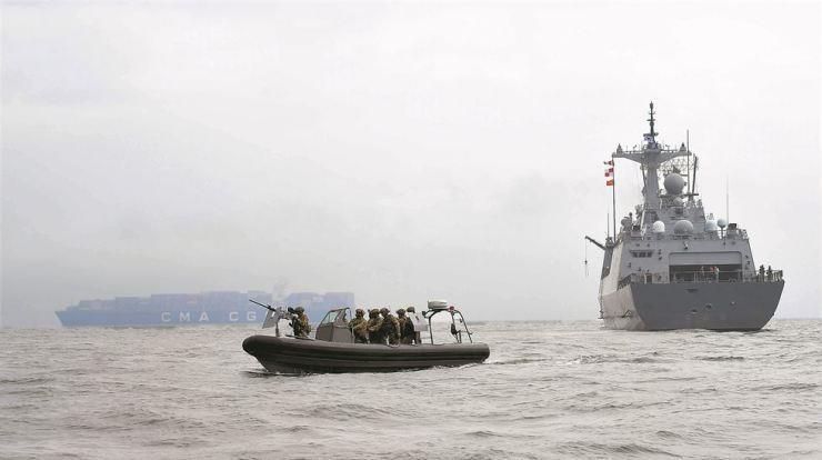 Trợ lực Mỹ, Hàn Quốc gửi hải quân tới eo biển Hormuz - ảnh 1