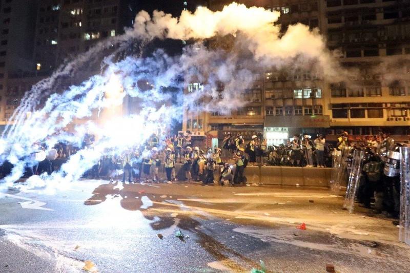 Ông Pompeo bác cáo buộc Mỹ đứng sau biểu tình ở Hong Kong - ảnh 1