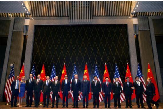 Đàm phán thương mại Mỹ-Trung diễn ra khi kỳ vọng không nhiều - ảnh 1