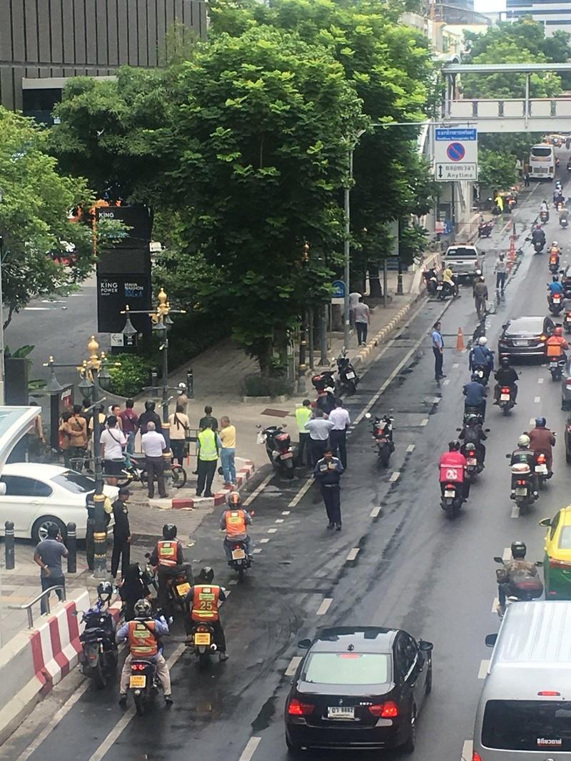 Nổ liên tiếp ở Bangkok trong bối cảnh hội nghị bộ trưởng ASEAN - ảnh 1