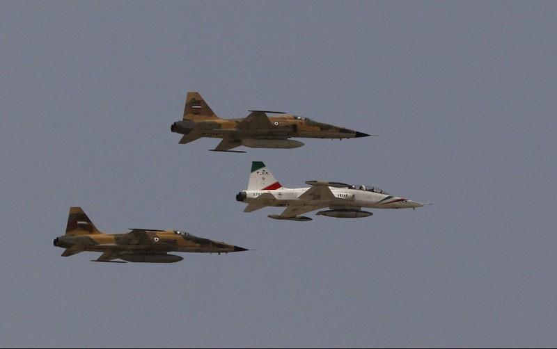 Chiến đấu cơ Iran rơi gần vịnh Ba Tư  - ảnh 1