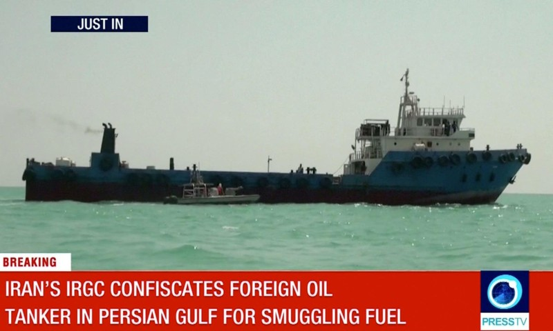 Iran tuyên bố bắt giữ tàu chở dầu thứ ba - ảnh 1