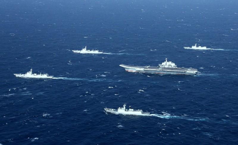 Trung Quốc ngang nhiên tuyên bố tập trận ở biển Đông  - ảnh 1