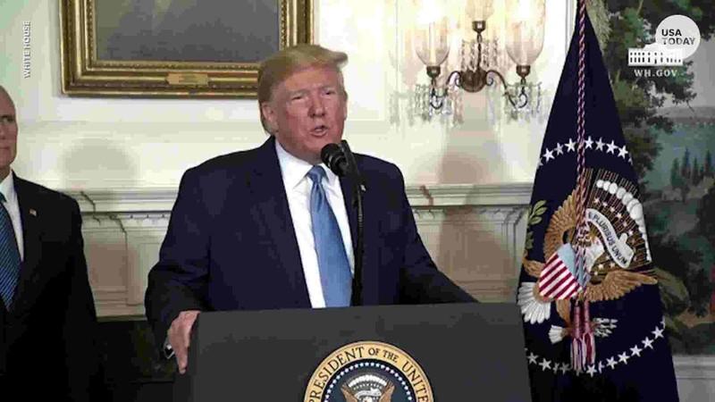 Ông Trump bị chỉ trích vì nhầm lẫn địa điểm xảy ra xả súng - ảnh 1