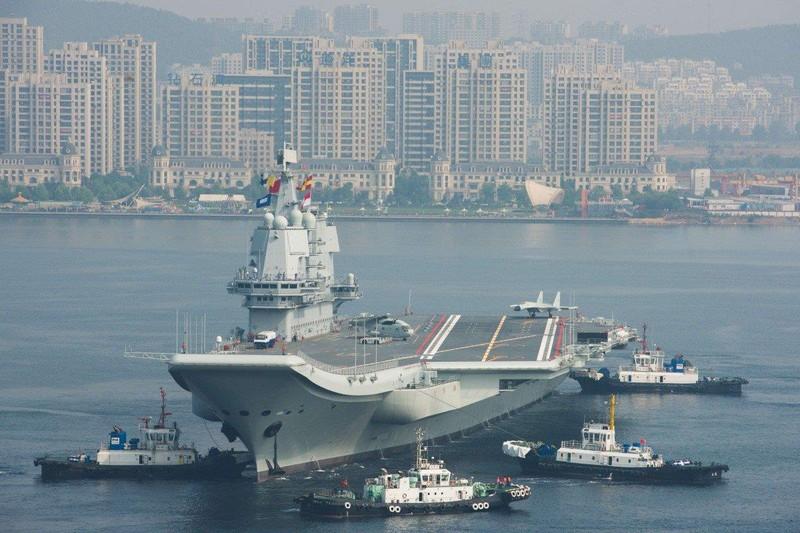 Tàu sân bay Trung Quốc chưa ra mắt lại gặp sự cố kỹ thuật - ảnh 1