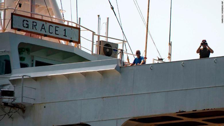 Tàu dầu Iran được thả, bất chấp mọi nỗ lực ngăn chặn của Mỹ - ảnh 1