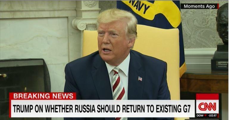 Mỹ muốn Nga quay trở lại nhóm G7 như trước đây - ảnh 1