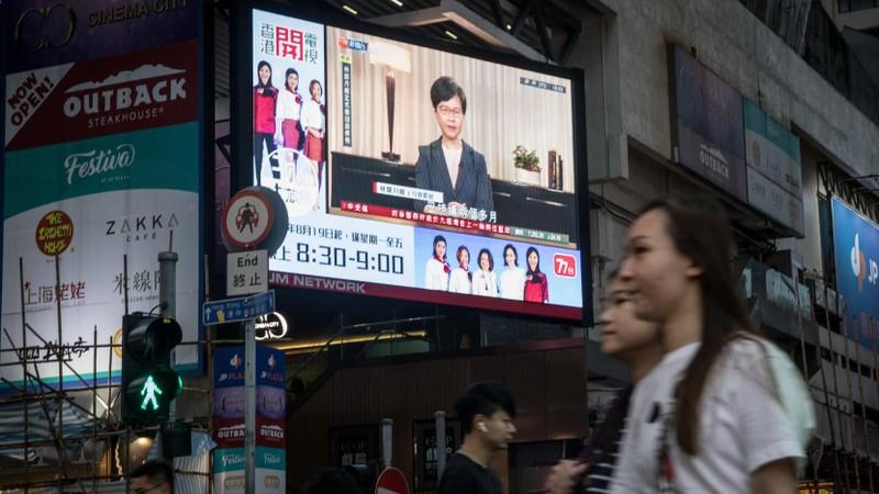 'Người biểu tình Hong Kong đã hết lý do để bạo loạn' - ảnh 1