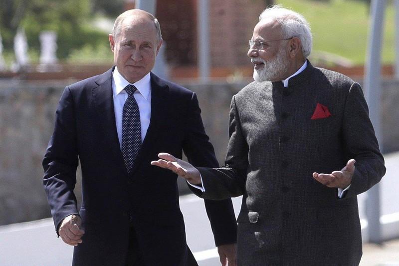 Biển Đông: Ấn Độ, Nga quyết định vào cuộc - ảnh 1