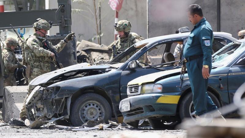 Mỹ bất ngờ hủy đối thoại với Taliban sau khi bị tấn công - ảnh 1