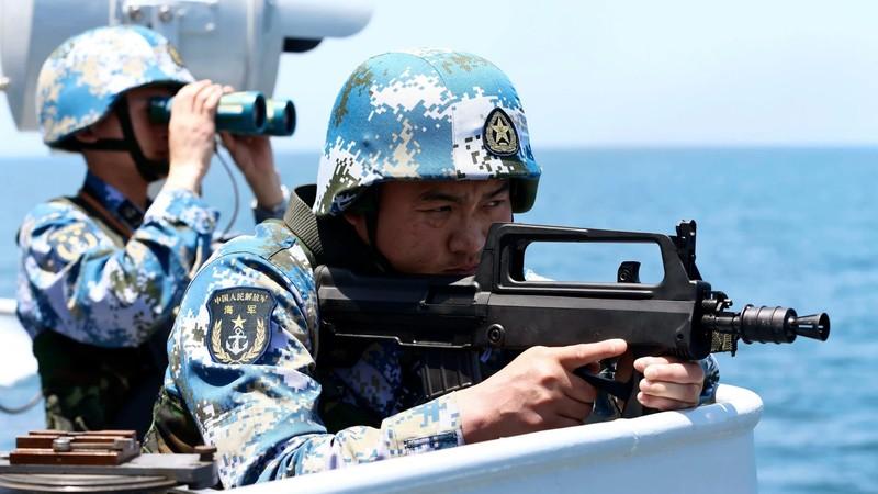 Trung Quốc tiến hành tập trận quy mô lớn gần Đài Loan - ảnh 1