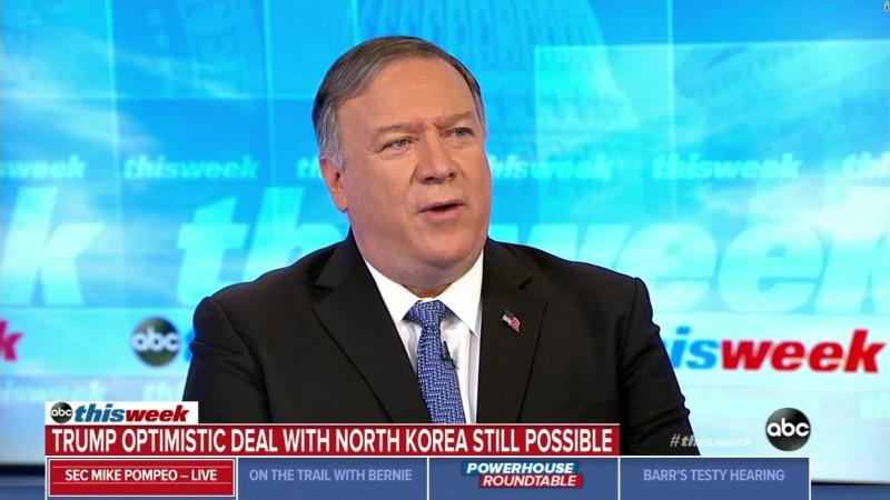 Ông Pompeo: 'Mỹ mong sớm nối lại đàm phán với Triều Tiên' - ảnh 1