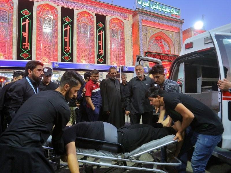 Giẫm đạp tại đền thờ Hồi giáo Iraq, hàng chục người chết - ảnh 1