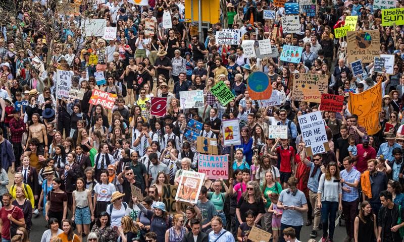185 nước tham gia biểu tình chống biến đổi khí hậu - ảnh 1