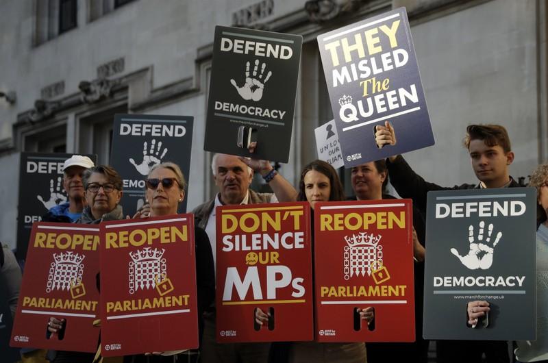 Tòa án Anh phản ứng đề nghị đình chỉ Quốc hội của Thủ tướng - ảnh 1