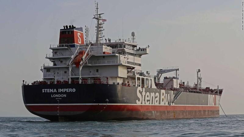 Tàu Anh được thả 'vẫn chưa rời Iran' - ảnh 1