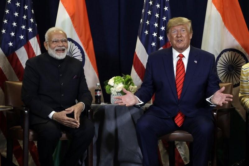 Ông Trump đề nghị gọi Thủ tướng Modi là 'cha của Ấn Độ' - ảnh 1