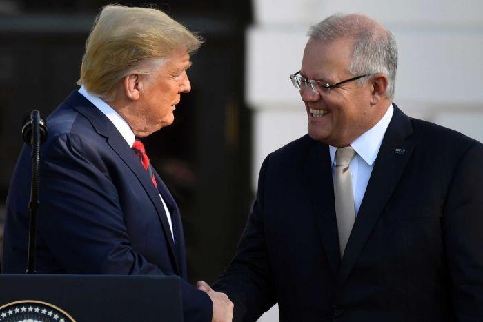 Ông Trump nhờ Úc giúp tìm hiểu nguồn gốc cuộc điều tra Mueller - ảnh 1