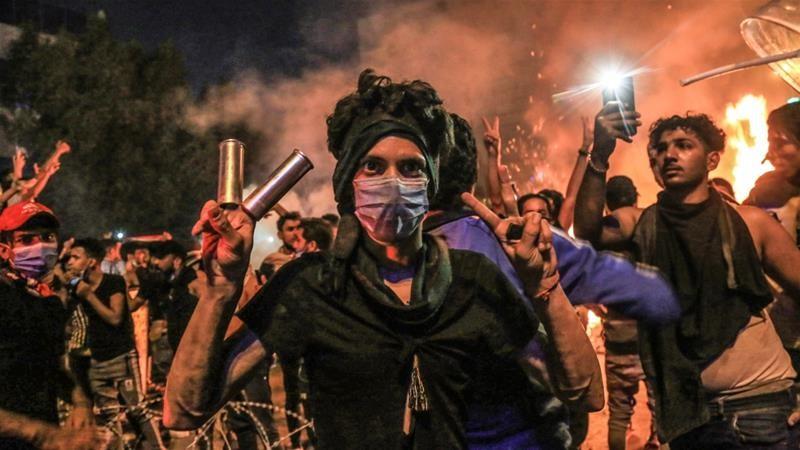 Iran cáo buộc Mỹ 'đổ dầu vào lửa biểu tình' ở Lebanon và Iraq - ảnh 3
