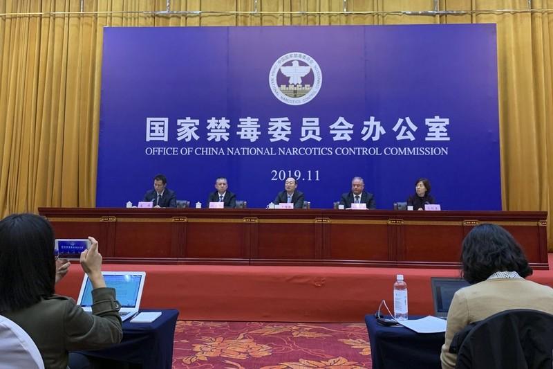 Nhờ tình báo Mỹ, Trung Quốc phá 1 đường dây ma túy tổng hợp - ảnh 1