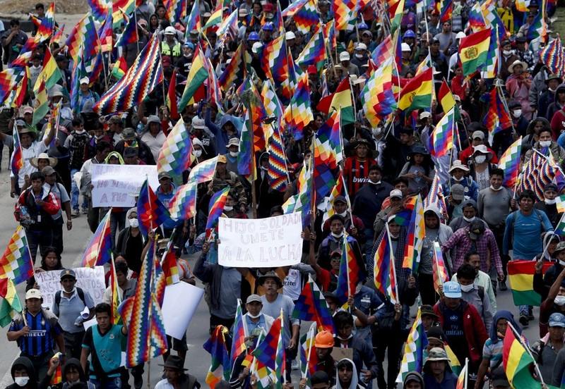 Ông Morales: 'Lãnh đạo đảng MAS mới xứng là tổng thống' - ảnh 2