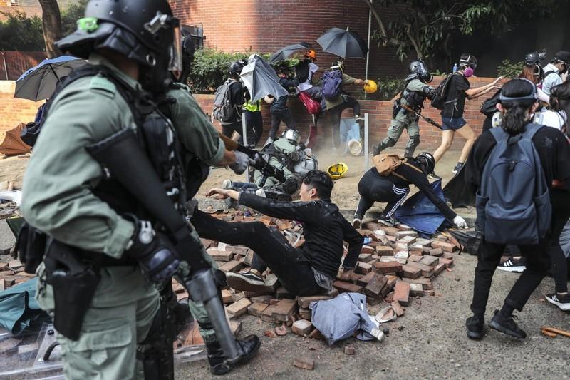 Lý do EU hạn chế lên tiếng quyết liệt về biểu tình Hong Kong  - ảnh 1