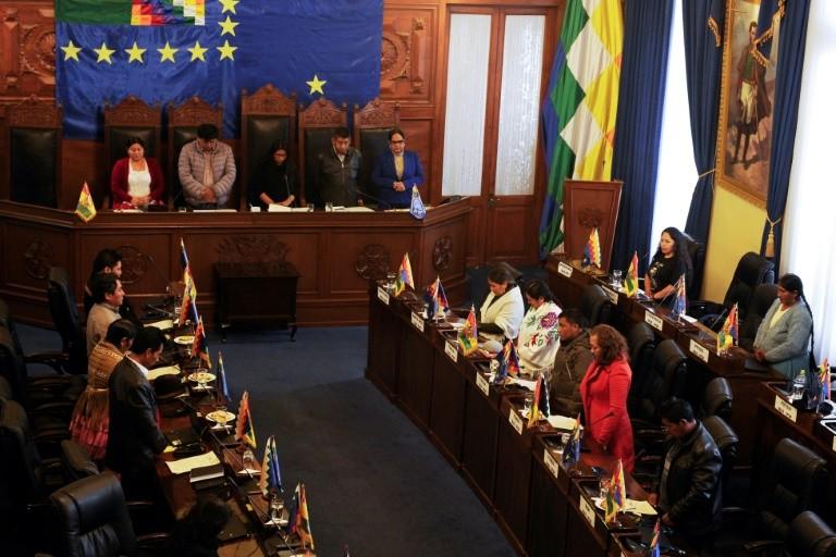 Thượng viện Bolivia hủy bỏ kết quả bầu cử của ông Morales - ảnh 1