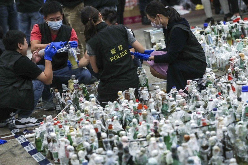 Sau biểu tình, có gì bên trong ĐH Bách khoa Hong Kong? - ảnh 1
