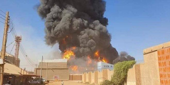 Cháy nhà máy gốm Sudan: Gần 70 người chết và bị thương  - ảnh 2
